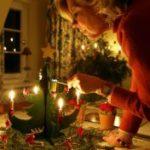Weihnachtsbaum Kerzen