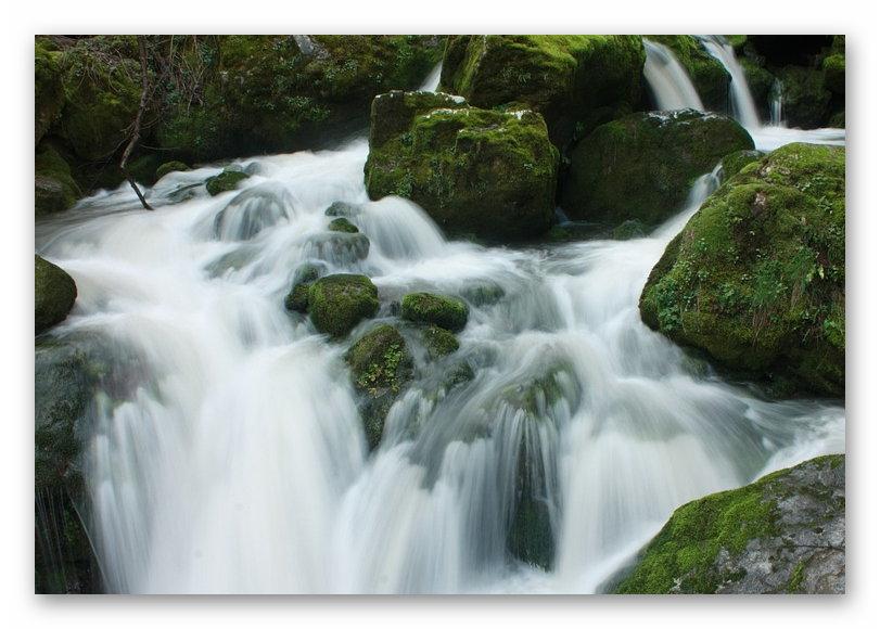 Wasserfall Wasser Romanisch 1