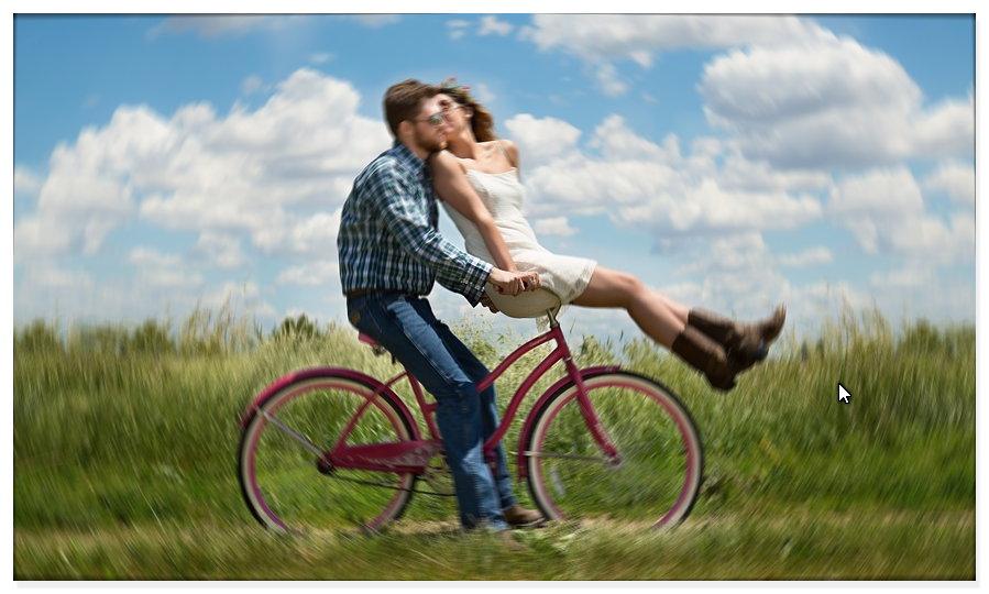 Fahrrad Fahren Natur 1